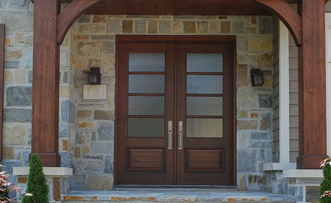 Wooden Front Door. Customized wood doors according to your tastes and expectations
