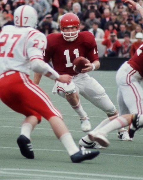 """RARE 1971 """"Game of The Century"""" Ou Oklahoma Sooners Jack Mildren 8x10 Photo"""