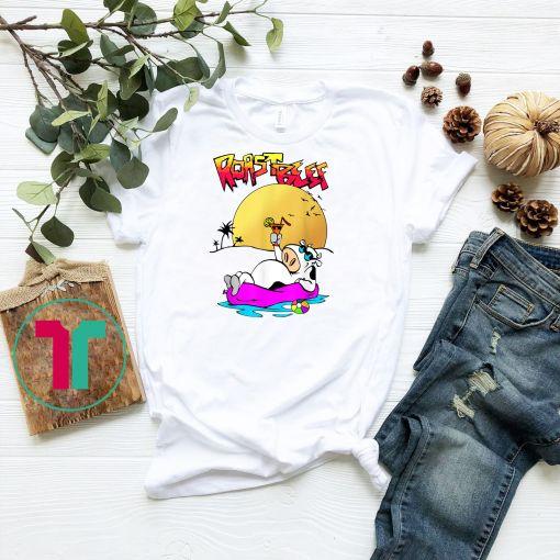 Dustin Roastbeef T-Shirt Cow On Sun Tee Roast Beef Tshirt Be T-Shirt