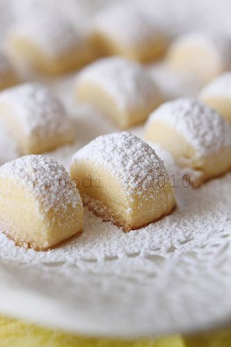 "Soft Shortbread Cookies (recipe) - ""The cookies are 'melting moments' which is"
