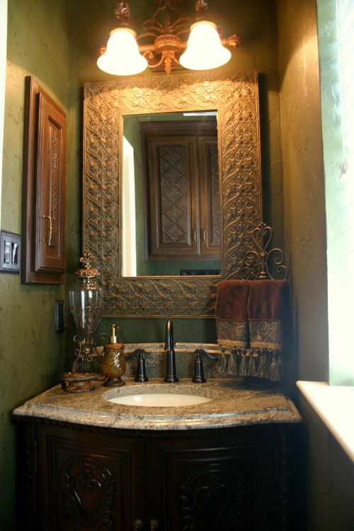 193 best bathroom powder room decor images on pinterest for Guest bathroom design