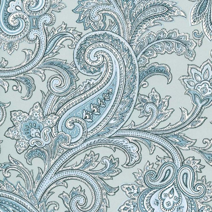 17 Best Ideas About Paisley Wallpaper On Pinterest