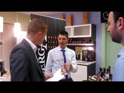 Italian #espresso (Eurocaf) at Italian food & wine fair in Dublin