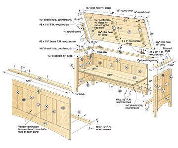 Heirloom Chest Woodworking Plan