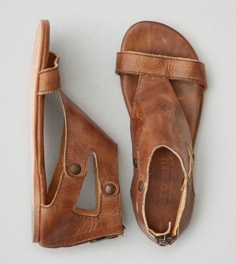 Tan Bed Stu Soto Sandal