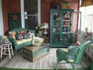 Country porch decor images