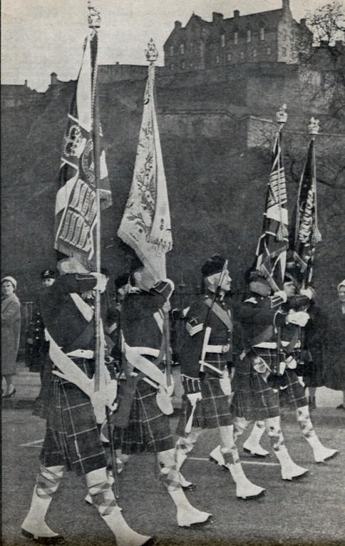 Queens Own Highlanders amalgamation 1961