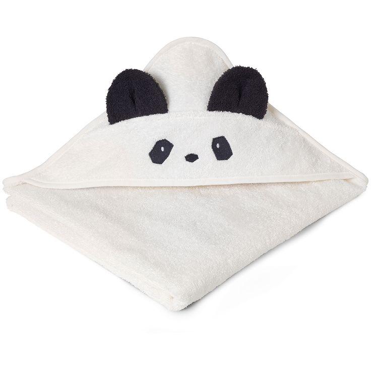 Liewood Babyhåndklæde Panda - Køb online her!