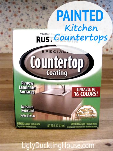 Rustoleum Countertop Paint Bubbles : ... My Kitchen Countertops Everything, Countertop and Ugly duckling