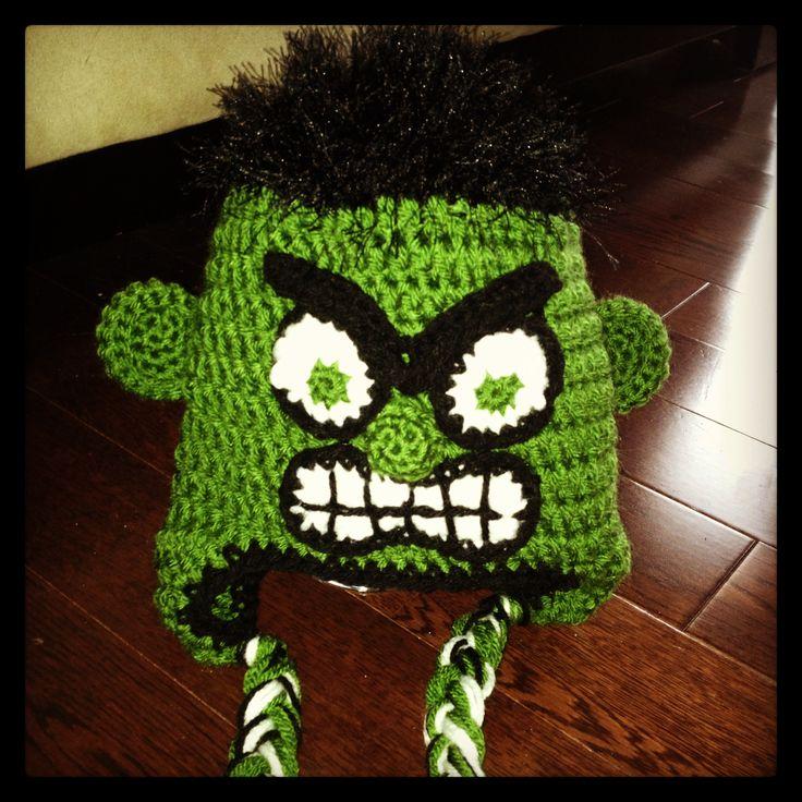 ... CoCoCrochetByLee hulk hat crochet pattern Pinterest Crochet The hulk My  ... 8a33b9a4a27