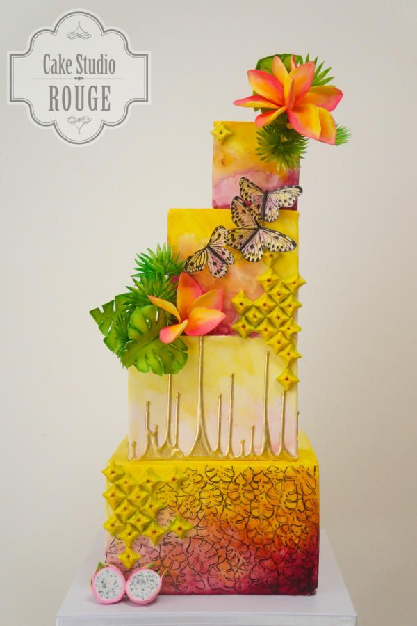 Sweet summer colaboration - Cake by Ceca79