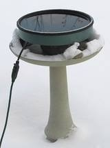 We saw a whole flock of chickadees having a winter bath in a heated bird bath....  I so NEED one of these for the garden!    .....     Heated Bird Bath Tips - Tips for Using a Heated Bird Bath