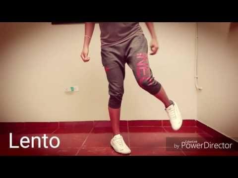 Como Bailar Shuffle | Tutorial Pasos | JK Shuffle - YouTube