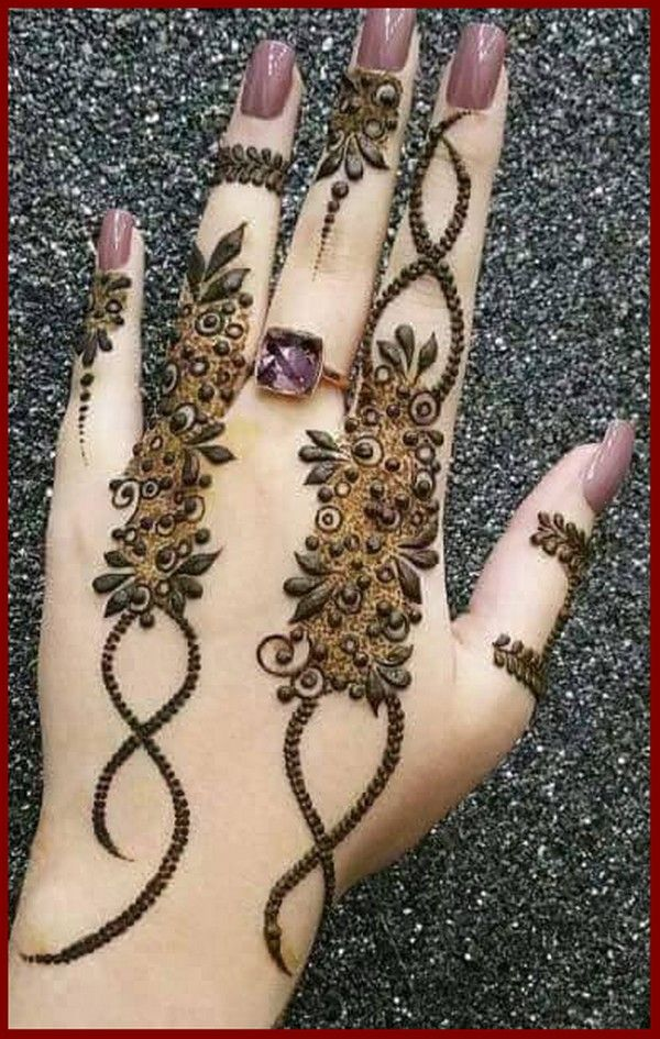 Beautiful Mehndi Design 2018 Simple And Easy Mahanadi Designs