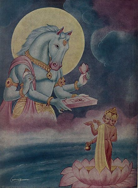 According to Hinduism, Hayagriva Narayana or the horse-headed incarnation of Vishnu as the symbol of knowledge and wisdom imparting Godhead ...