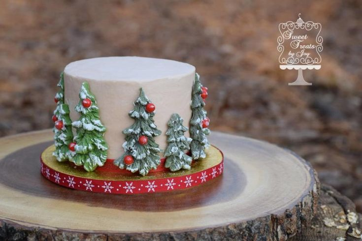 Evergreen Smash - Cake by Joy Thompson at Sweet Treats by Joy