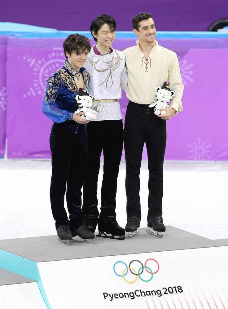 Love these three-so much joy, grace, and class. #figureskating