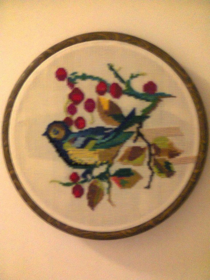 Adriana  Hobby: Tablou  brodat în punct cross stitch - cruciuliţă-...