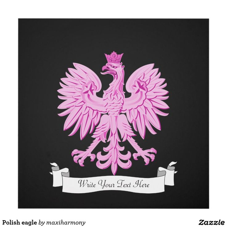 Polish eagle panel wall art