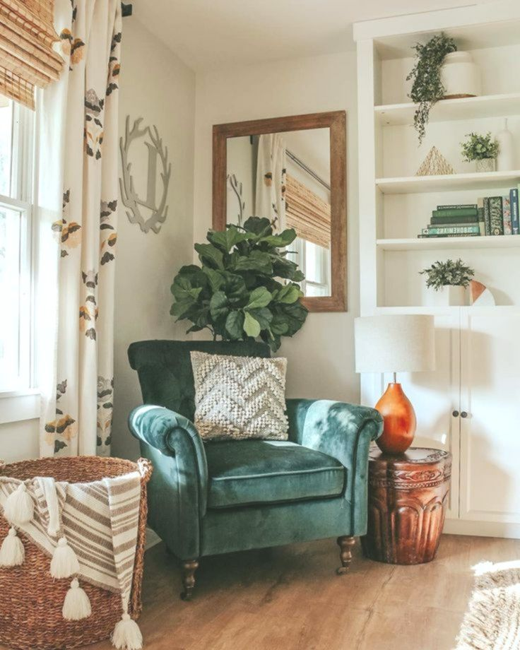 Dark Green Accent Chairs Www Rhiannonlawso Rhiannonlawsonhome Home Decor Design Home Decor Home Decor Inspiration House Interior