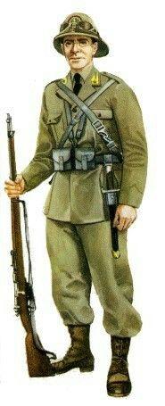 Italian Regia Guardia di Finanza 1935 - uniforme coloniale, pin by Paolo Marzioli