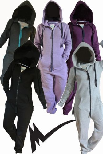 2014 Onesie Adult Jumpsuit One Fleece Piece Hoodie Snowboard Ski Womens Mens | eBay