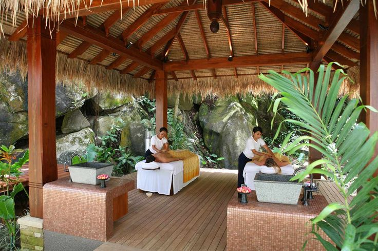 MAIA Spa, Open Air Pavilion #Seychelles