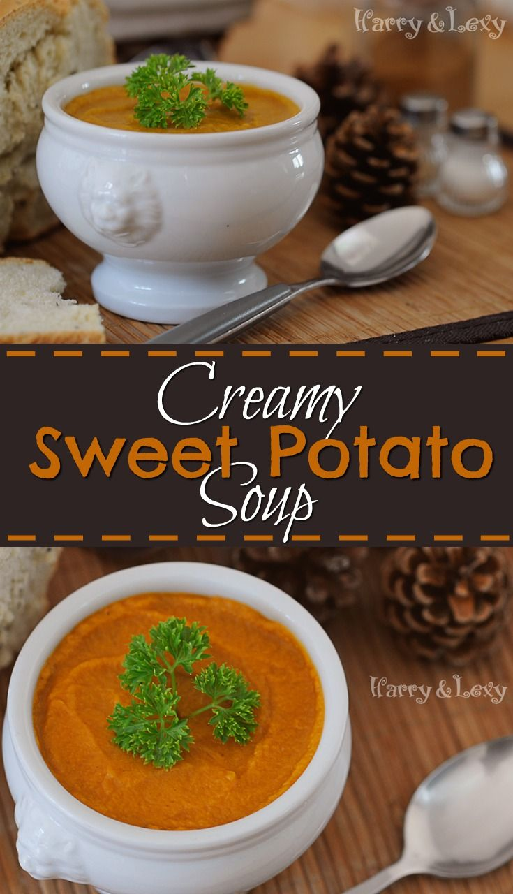 A hearty creamy sweet potato soup to warm up your tummy, this is a fantastic hygge recipe to make you feel all cosy.