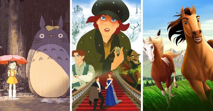Si en tu niñez morías por ver películas animadas, seguramente ya no recuerdes estas 25 películas animadas que viste en tu infancia pero no son de Disney