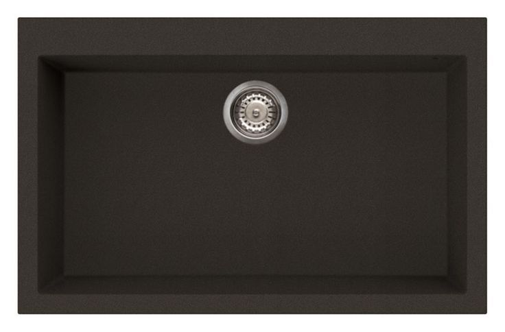 Reginox Quadra 130 B Elleci Single Bowl Granite Kitchen Sink in Black in Home, Furniture & DIY, Kitchen Plumbing & Fittings, Kitchen Sinks without Taps | eBay