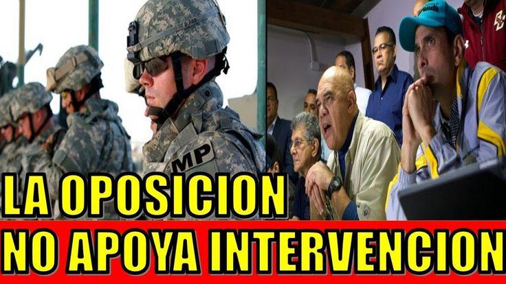 ultimo minuto VENEZUELA EEUU 3 MARZO 2018||La OPOSICION en Venezuela no Apoya una INTERVENCION