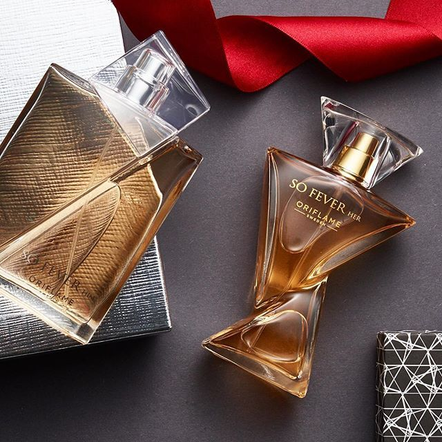 His and hers ❤️#oriflame #perfume