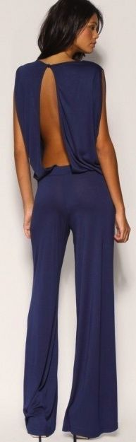 jumpsuit. bare a little skin and keep your dignity intact. tres chic