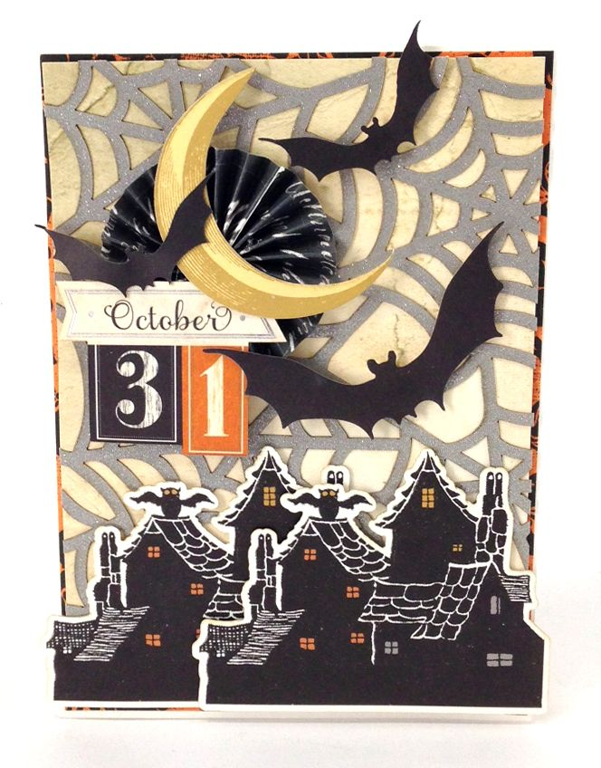 © Anna Griffin, Inc. Spooktacular Paper Crafting