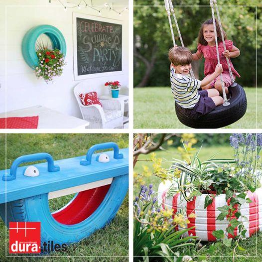 #eski #araba #lastik #DIY #yaratici #dekor #sanat #susleme #cicek #flower #flowers #car #old #tire #creative #decor #decoration