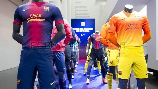 Nike FC Barcelona 2012-13 Kit Now Official! I quite like them, actually. The fade business is a bit of a shock at first but once you get head round it, pretty groovy! Better than last years' blue and crimson striped pyjamas, anyway!