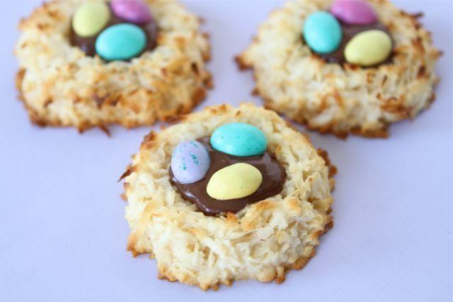 ... Nest, Nest Cookie, Nutella Nest, Easter Dessert, Easter Macaroon