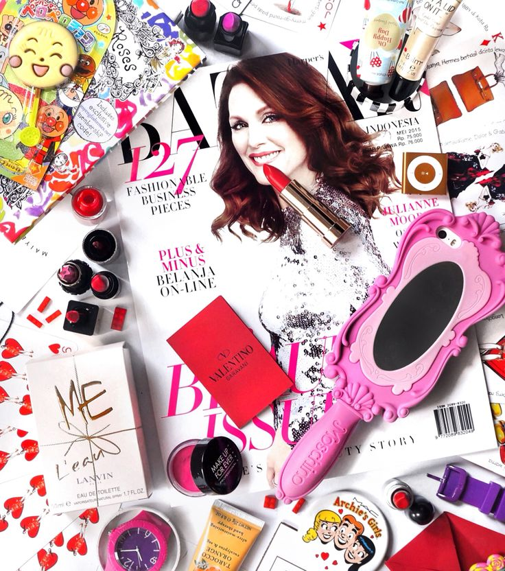 The Beauty Issue, flatlay by michelle othman