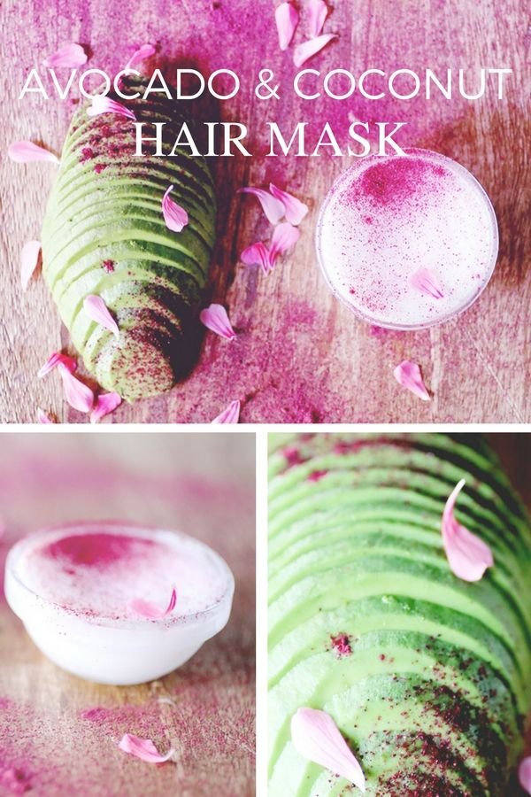 Avocado and Coconut Hydrating Hair Mask