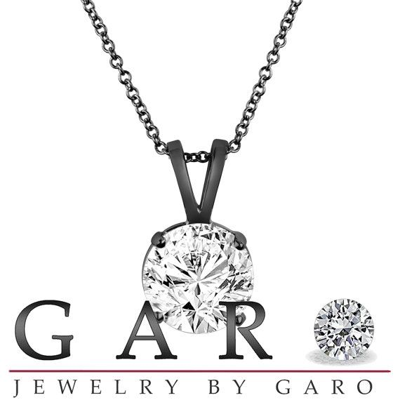 46 best solitaire diamond pendant necklace images on pinterest natural diamond solitaire pendant necklace 101 by jewelrybygaro 445000 audiocablefo