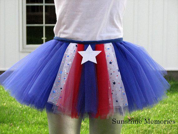 Patriotic Hero Running Tutu