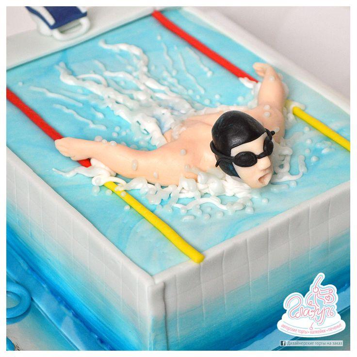 Swimmer cake https://www.facebook.com/katrin.smirnova.3958