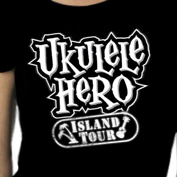 Ukulele Hero - Uke Company - Top Ukulele T Shirts and Gifts Online. @ukuleletshirtcompany #ukulelehero