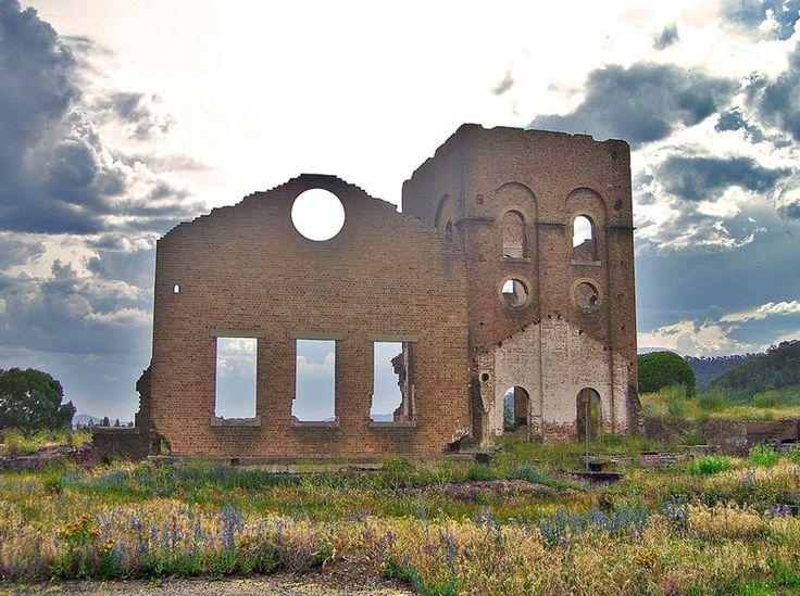 Ruins of the Lithgow Blast Furnace, NSW, Australia