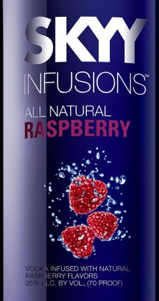 SKYY Infusions Raspberry Vodka - mixed with either energy drinks or Sprite <3