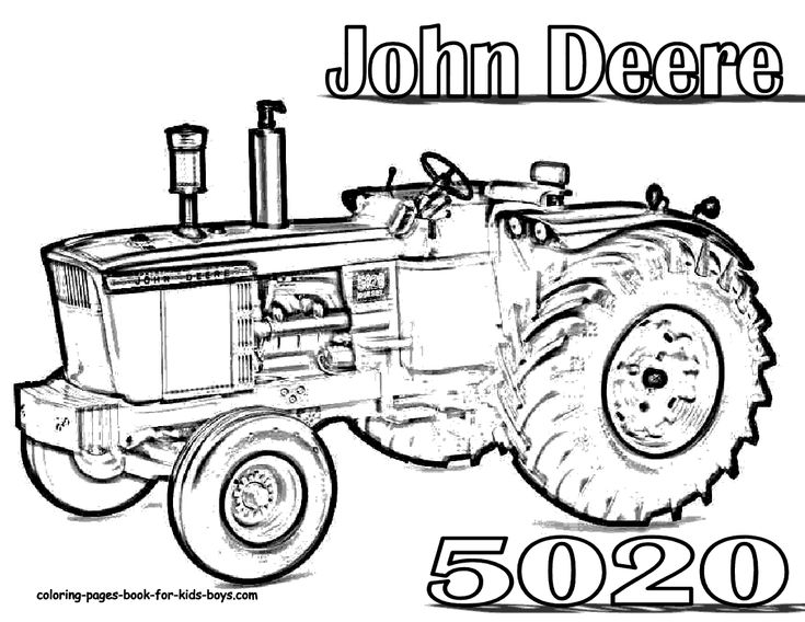 Tractor Coloring Pages Pdf : Best tractors and construction images on pinterest