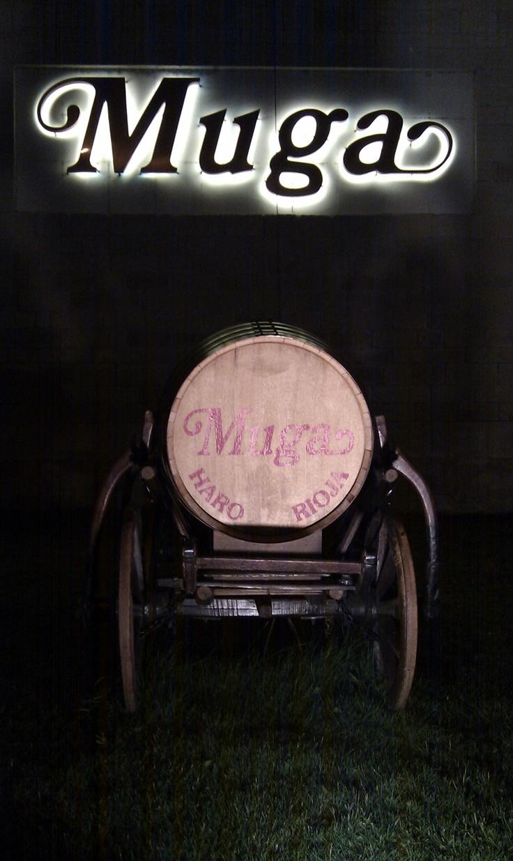 Bodegas Muga, otra de las bodegas ilustres y centenarias de #Rioja Alta