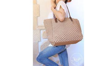 Paola Collection: #borsa cordino e pelle. pezzo unico.