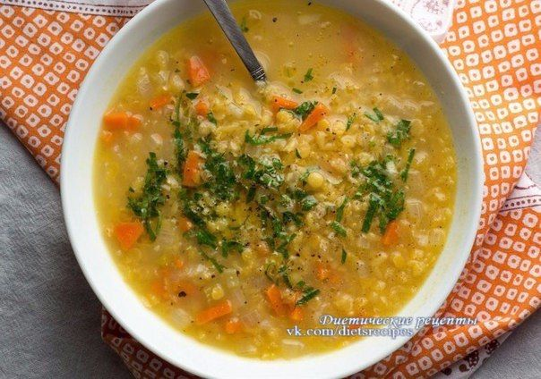 Полезный суп из чечевицы  / Основы бизнеса