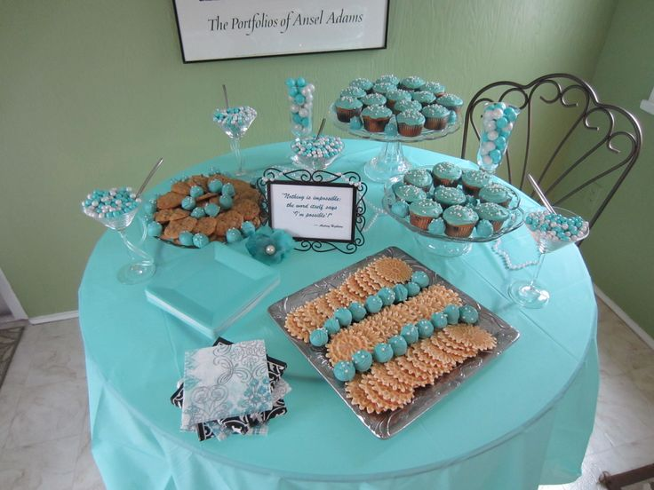 """Breakfast at Tiffany's"" Bridal Shower Ideas"